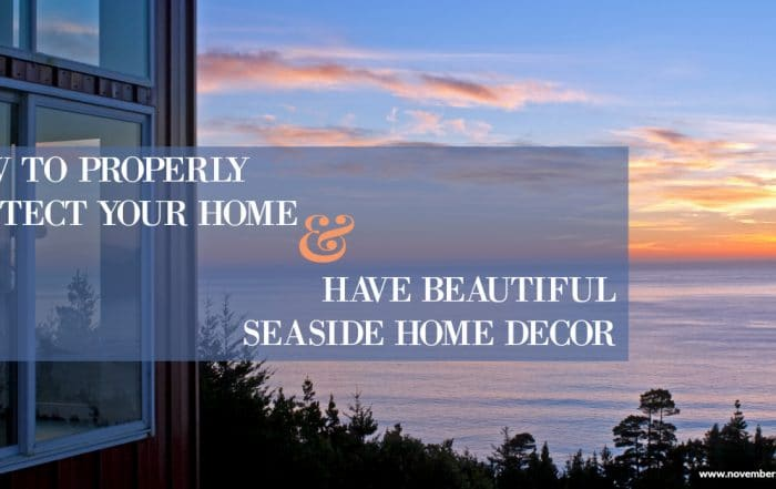 Seaside Home Decor