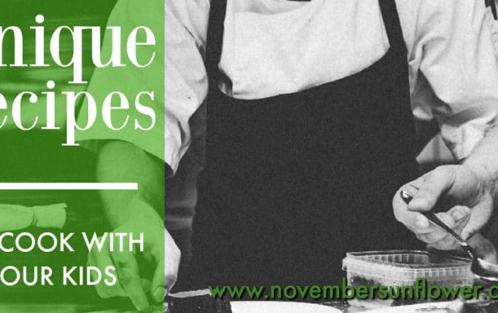 unique recipes to cook with your kids
